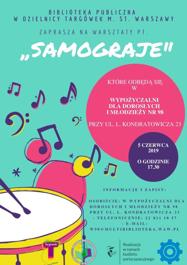 """""""Samograje"""" – warsztaty w W98"""