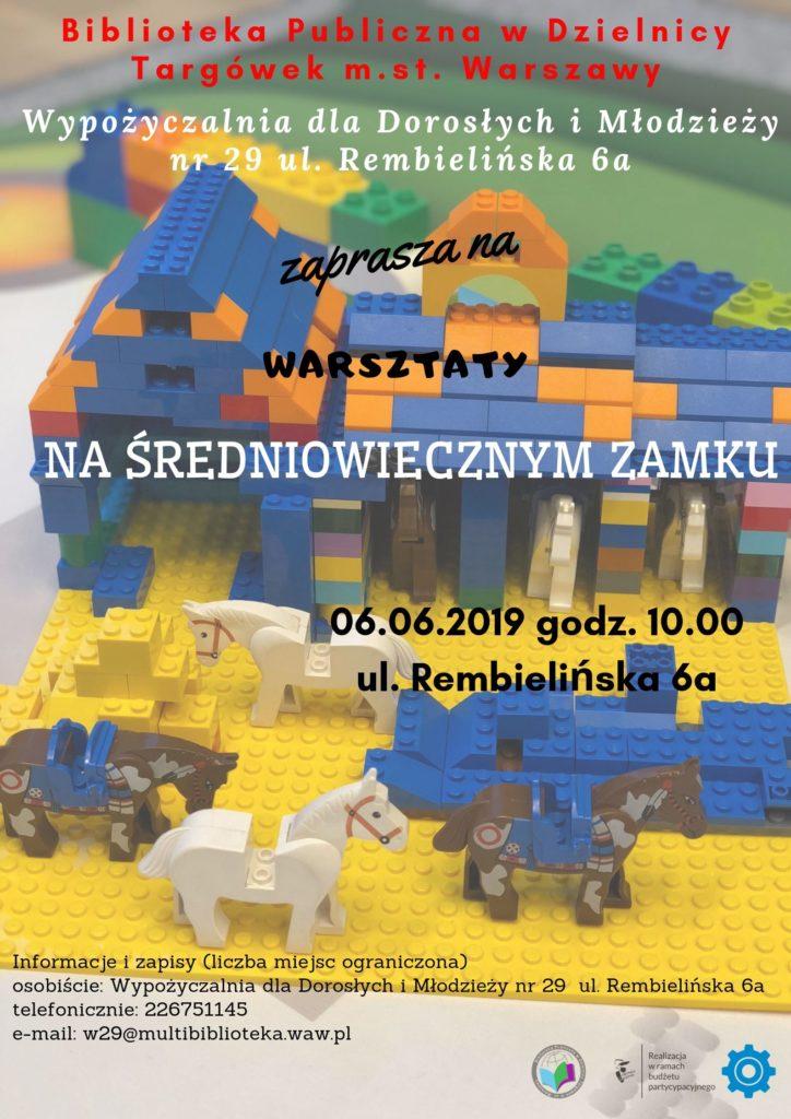 """""""Na średniowiecznym zamku"""" – warsztaty Edukido w W29"""