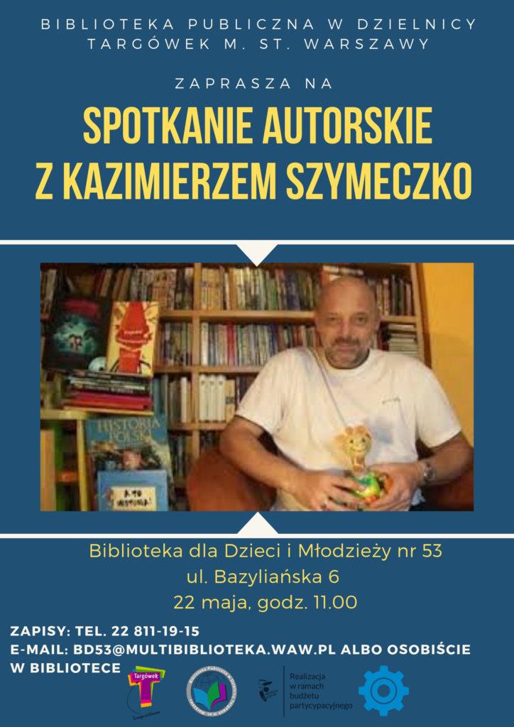 potkanie autorskie z Kazimierzem Szymeczko w BD53
