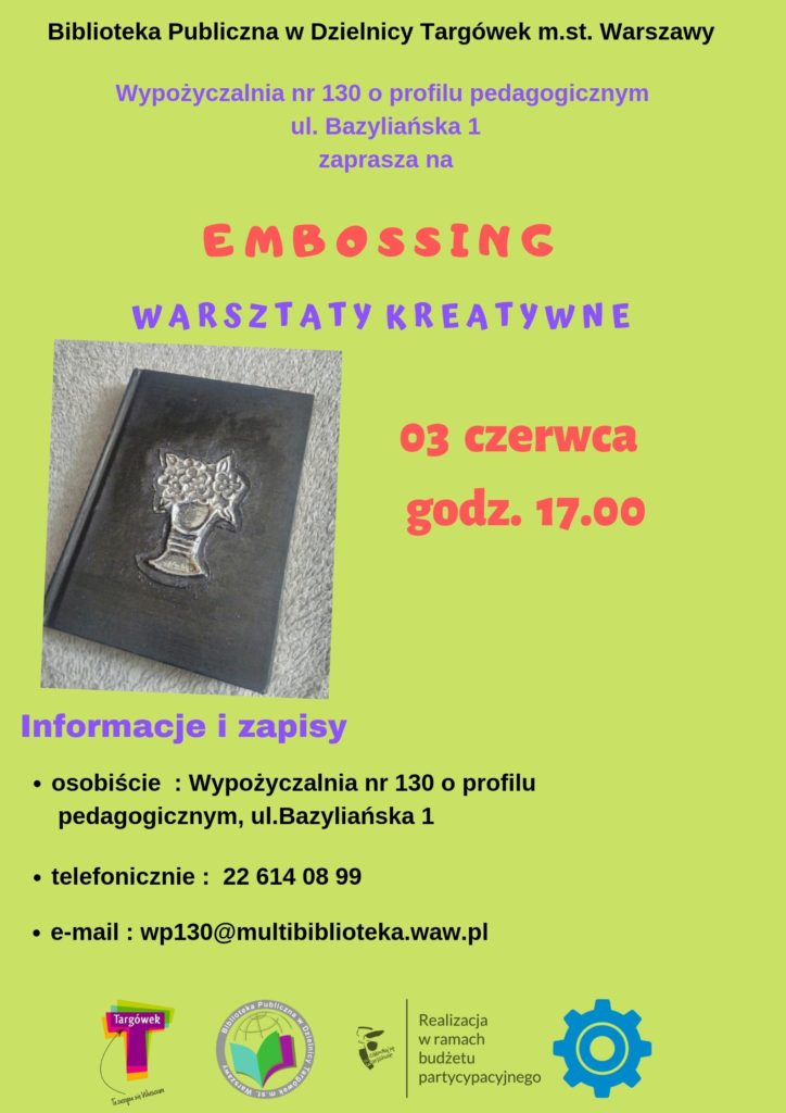 Embossing w WP130
