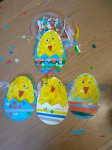 Wielkanocne kurczaki w W37