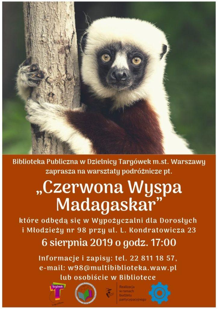"""""""CZERWONA WYSPA MADAGASKAR"""" - WARSZTATY PODRÓŻNICZE W W98"""