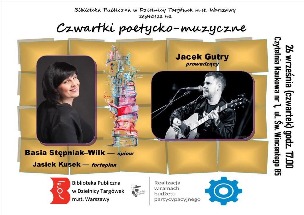 """""""Czwartki poetycko – muzyczne"""" w Czytelni"""