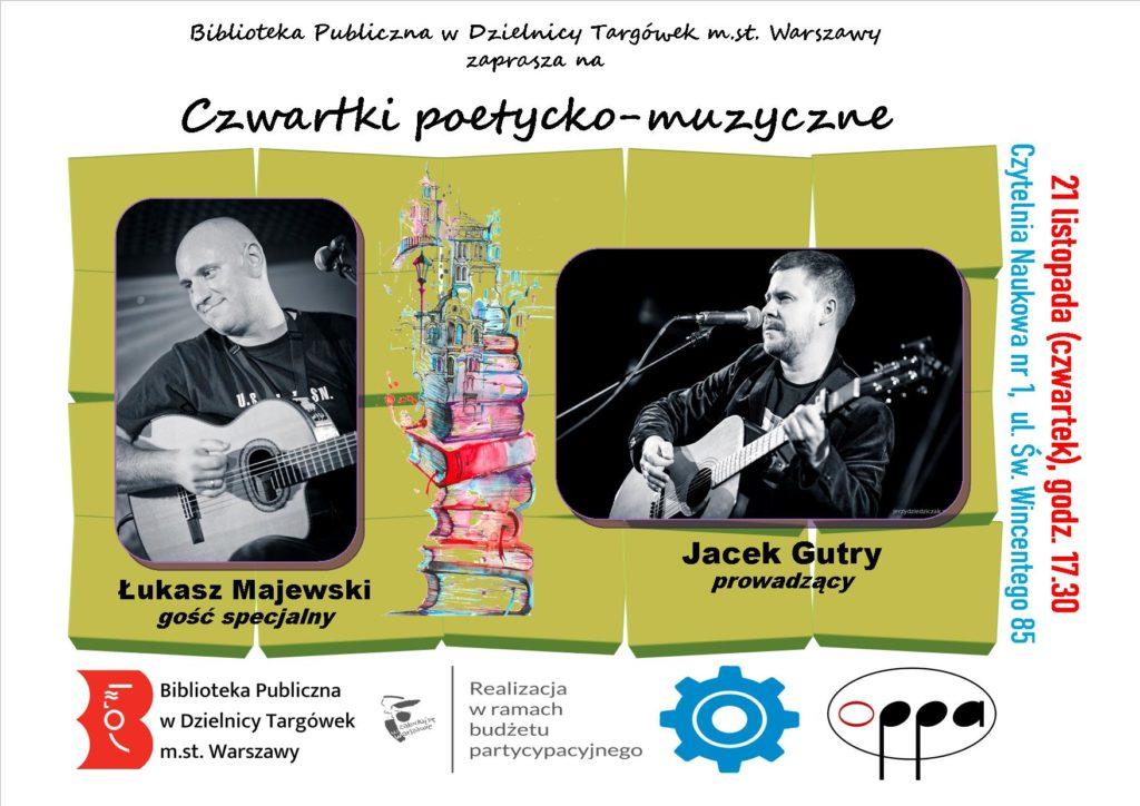 """""""Czwartki poetycko-muzyczne"""" w Czytelni Naukowej"""