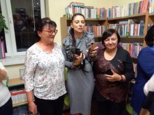 """""""Noc Bibliotek"""" z Ałbeną Grabowską w W37"""