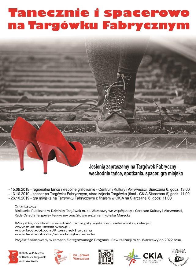 Tanecznie i spacerowo na Targówku Fabrycznym - projekt sąsiedzki