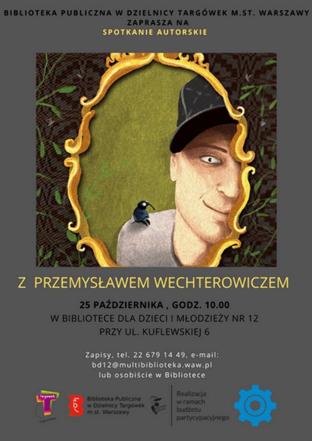 Spotkanie autorskie z Przemysławem Wechterowiczem w BD12