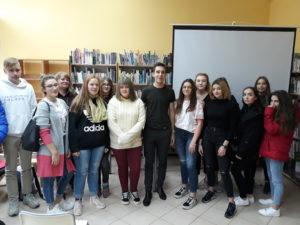 Spotkanie autorskie z Tomaszem Sobanią w W72