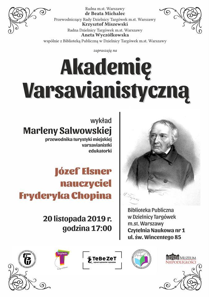 """""""Akademia Varsavianistyczna"""" w Czytelni Naukowej nr I"""