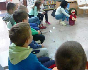 """""""Pacynkowe"""" warsztaty literacko-teatralne w BD65"""