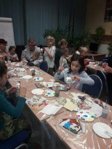 Rodzinne warsztaty świąteczne oraz wspólne kolędowanie