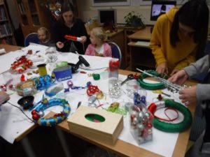 Ozdoby świąteczne - warsztaty w BD12