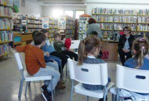 Warsztaty literacko-teatralne z Klanzą w BD65