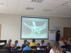 Bohaterowie baśni mitów i legend w CNI