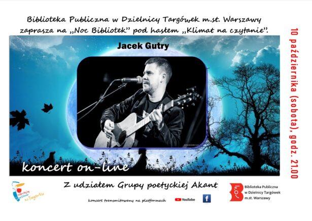 """""""Noc bibliotek"""" – koncert on-line"""