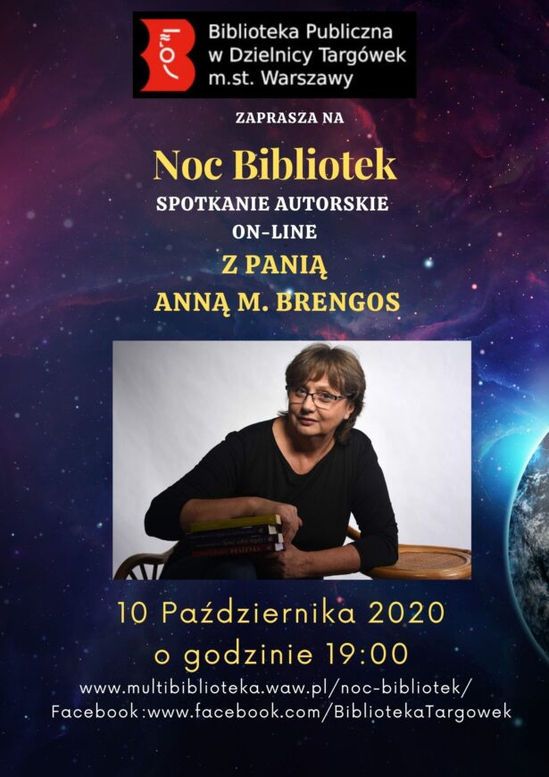 spotkanie online z Anną M. Brengos