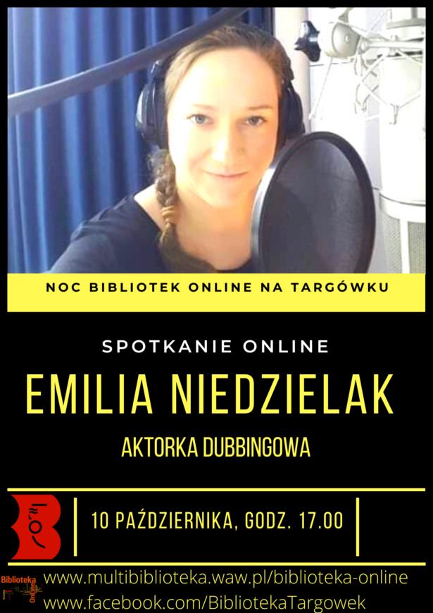 wywiad z Emilią Niedzielak - aktorką dubbingową