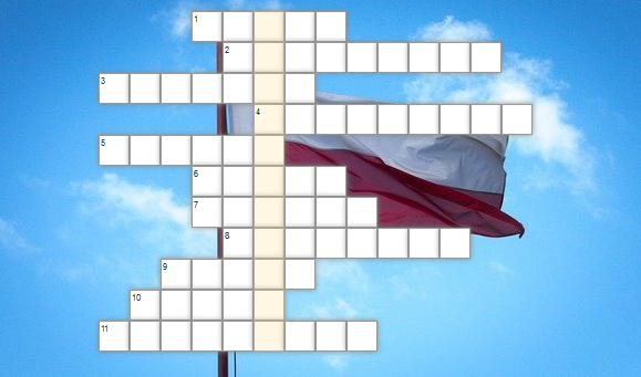 krzyżówka - Narodowe Święto Niepodległości