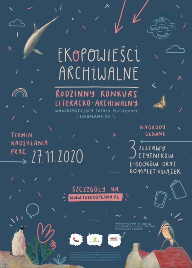 """Konkurs literacko-archiwalny """"EKOPowieści archiwalne"""""""