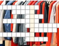 krzyżówka - Tysiąc lat ubiorów