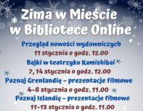 """Więcej o """"Zima w Mieście"""" w Bibliotece Online"""