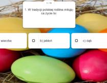 Więcej o Wielkanocne tradycje dawne i nowe – quiz dla młodzieży i dorosłych