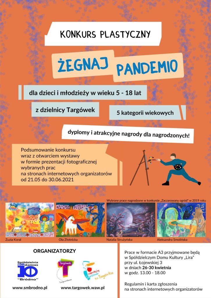 "Konkurs plastyczny ""Żegnaj Pandemio"""