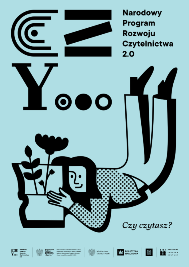 Plakat - Narodowy Program Rozwoju Czytelnictwa